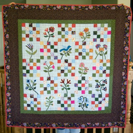 Patched Blossoms Quilt