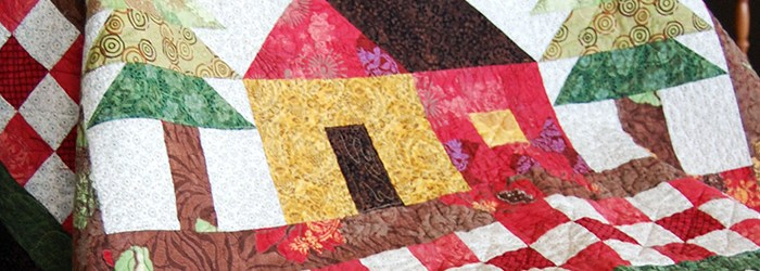 Quilts We've Made: Little House in the Woods