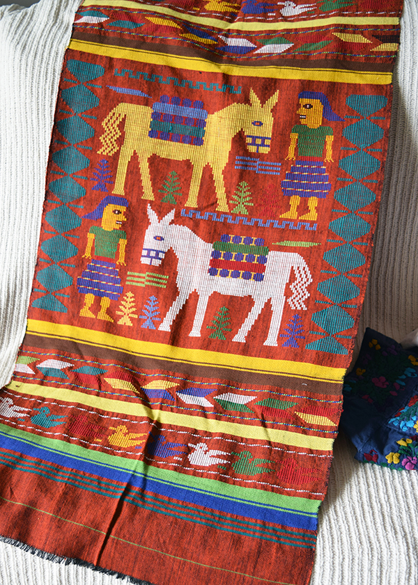 Burro Weaving