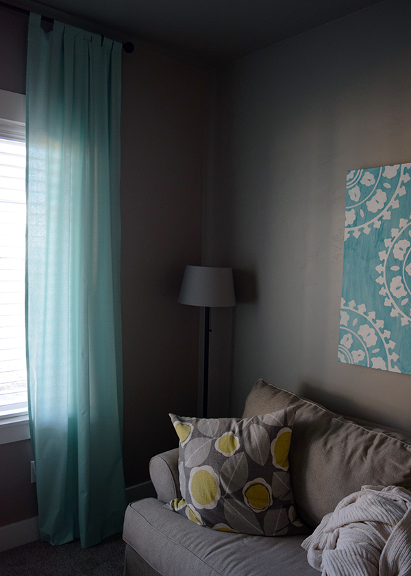 DIY Tab Top Curtains 3