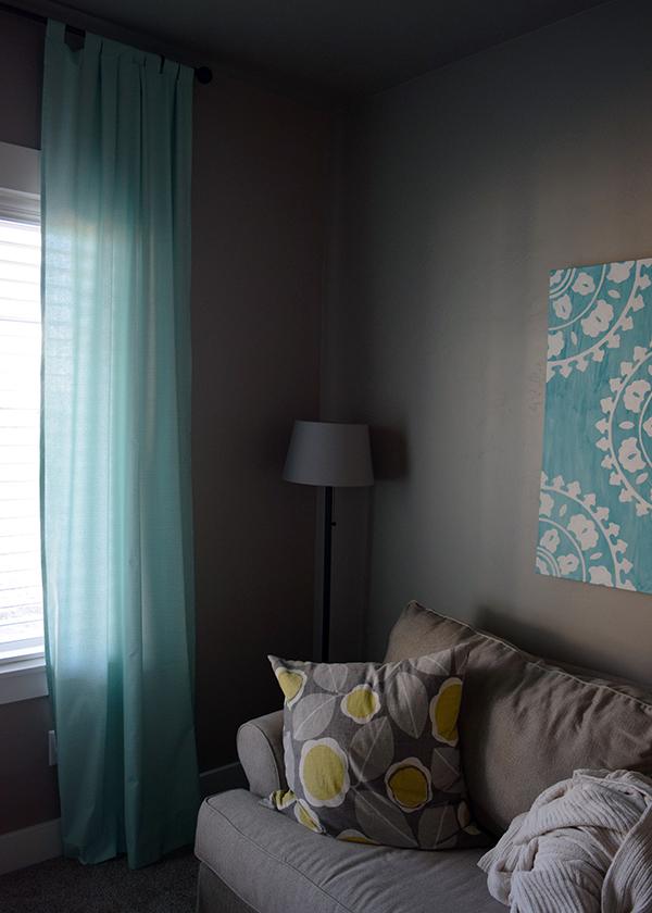 DIY Tab Top Curtains 3