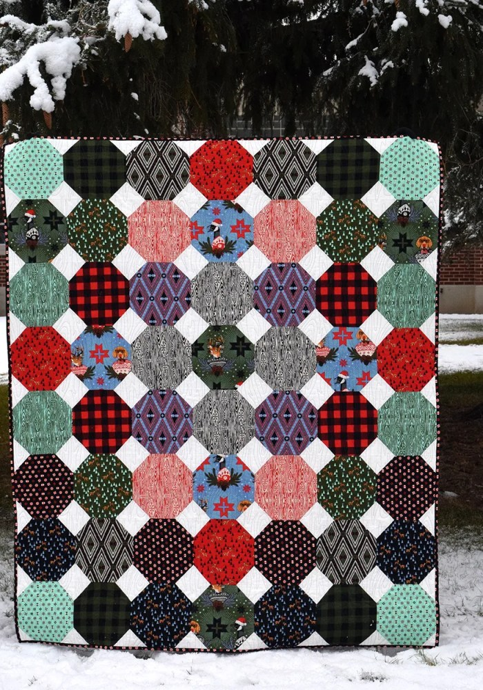 Make This: Snowball Fight Quilt Tutorial