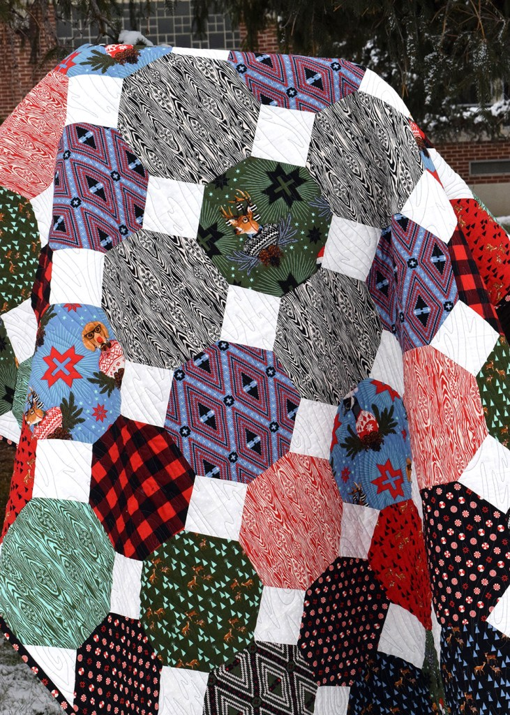 Make This Snowball Fight Quilt Tutorial
