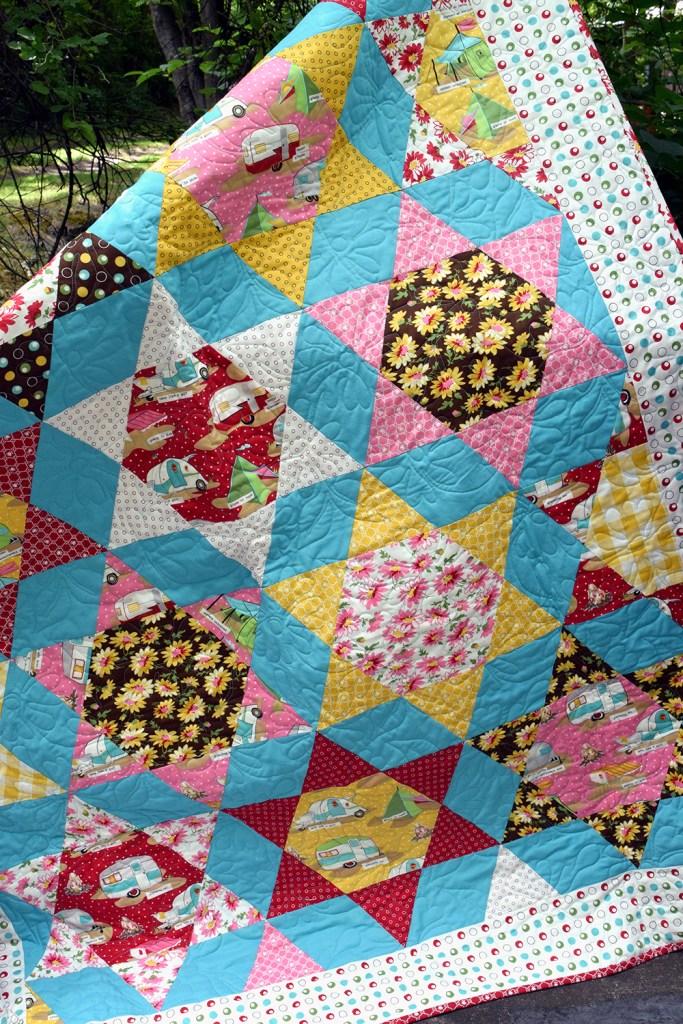 Glamping Star Farm Quilt