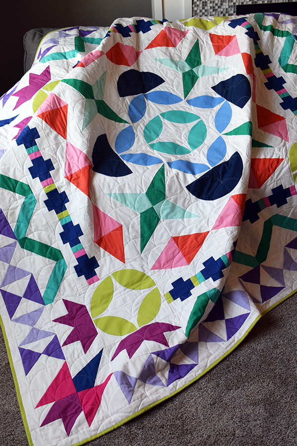 Quilts We've Made: Maiden Medallion Quilt