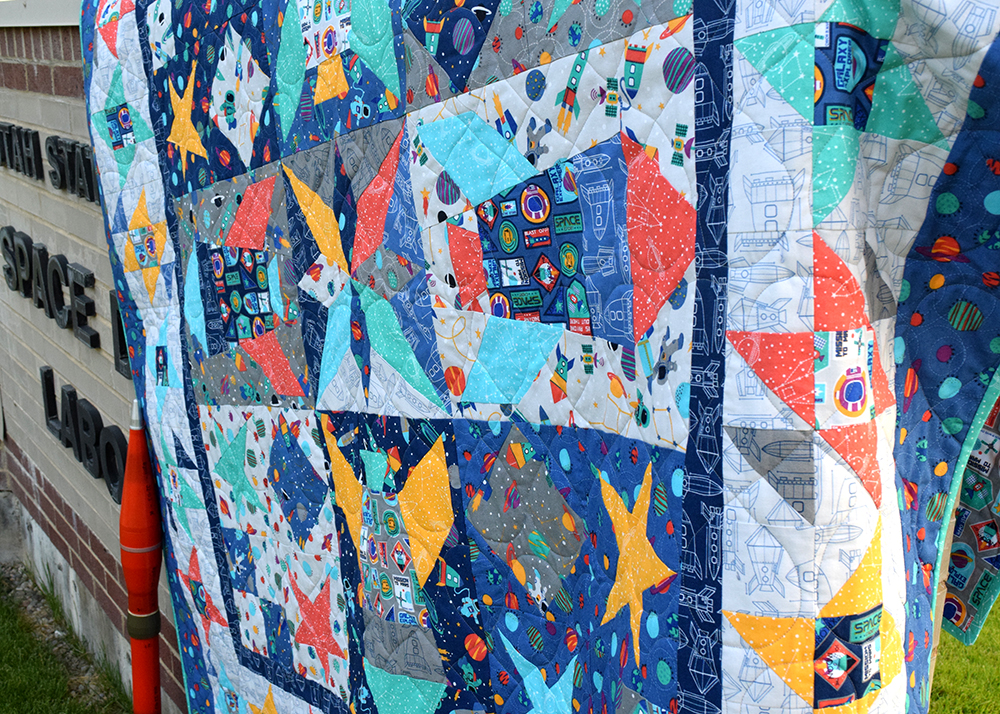 space shuttle quilt pattern - photo #35