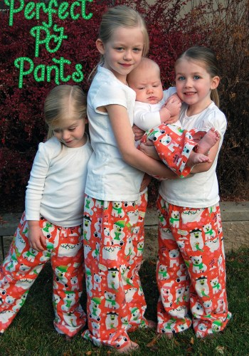 Make This: Perfect PJ Pants + Free Kids Pattern