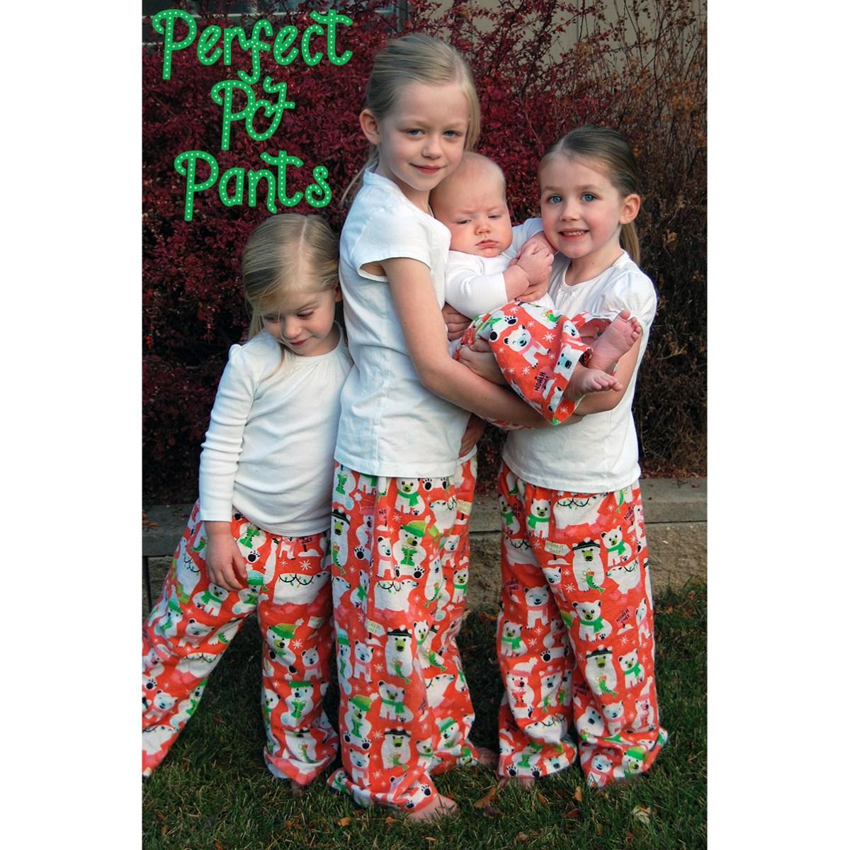 Perfect Pj Pants Kids Pattern