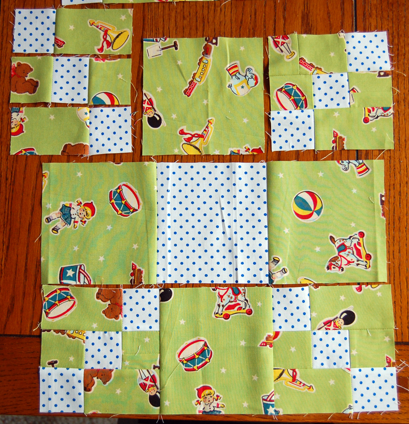 Playmates quilt block