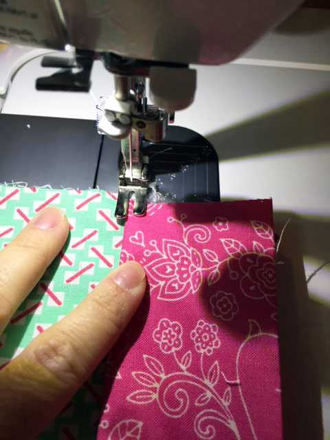 Press-and-topstitch-band