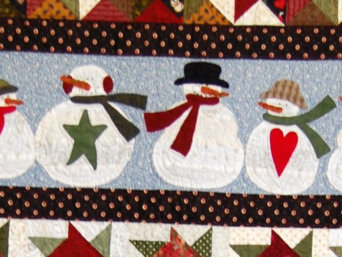 Quilts We've Made: Snowmen on Parade