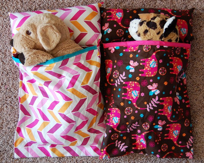Stuffed Animal Sleeping Bags 2