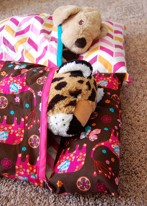 Stuffed Animal Sleeping Bags