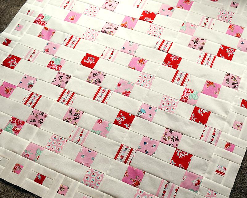 Valentine Mystery Quilt Top