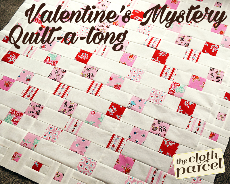 Valentine Mystery Quilt-a-Long Week 2