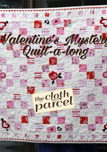 Valentine's Mystery Quilt-a-Long #3