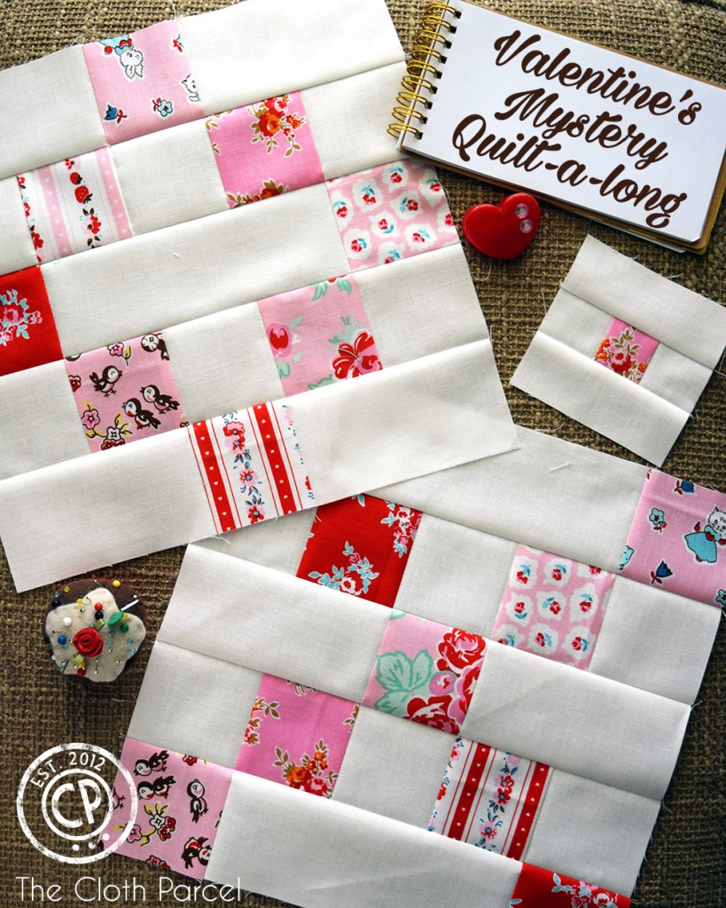 Valentines Mystery Quilt-a-long