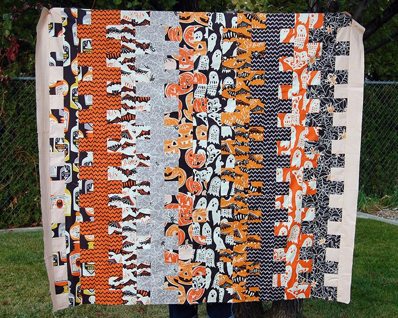 halloween quilt 6