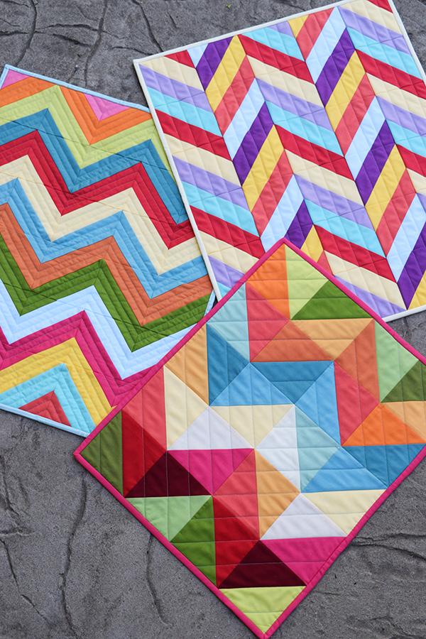 Mini Modern Quilt Pattern Bundle