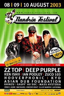 Nandrin Festival 2003