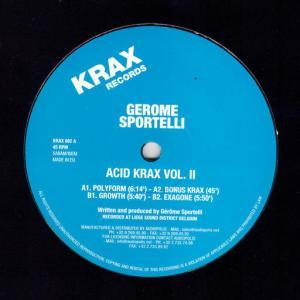 Gerome Sportelli - Acid Krax Vol. 2 - Krax Records