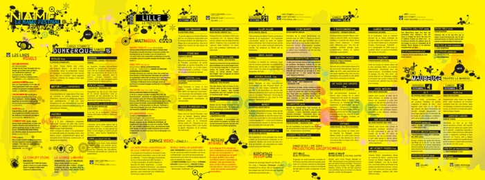 N.A.M.E Festival @ Lille Dunkerque Maubeuge (France) en octobre et novembre 2005