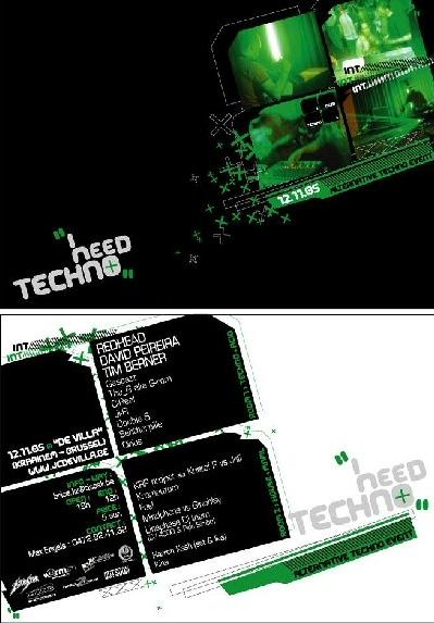 I Need Techno @ De Villa (Kraainem) le 12 novembre 2005