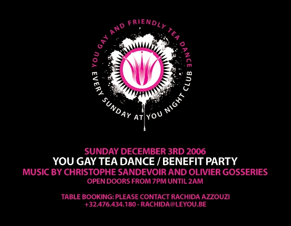 Aids Benefit Party at You Night Club