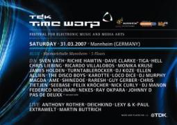 Time Warp 2007 @ Maimarkthalle (Mannheim, DE) le 31 mars 2007