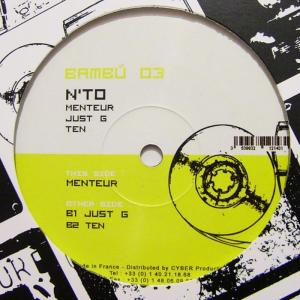 N'TO - Menteur EP - Bambú Records