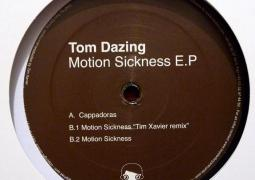 Tom Dazing - Motion Sickness EP - Toys For Boys Records