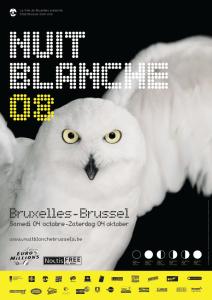 7ème édition de la Nuit Blanche @ Bruxelles le 4 octobre 2008