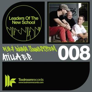 Flip & Djuma Soundsystem - Atilla EP - Leaders Of The New School