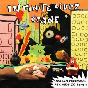 Infinite Livez vs Stade - Morgan Freeman's Psychedelic Semen - Big Dada Recordings