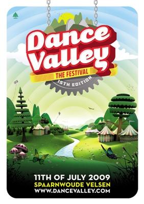 Ce 11 juillet 2009, le Dance Valley Festival fête ses 15 ans