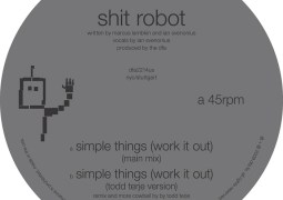 Shit Robot - Simple Things (Work It Out) - DFA Records