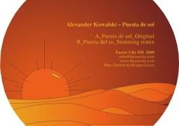 Alexander Kowalski - Puesta de Sol - Factor City Records