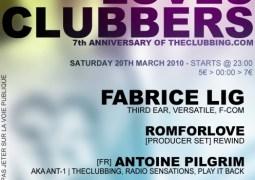 La Night Loves Clubbers accueille Fabrice Lig ce 20 mars 2010 au Café Bota Stéréo