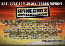 L'édition 2010 du Monegros Desert Festival aura lieu ce 17 juillet