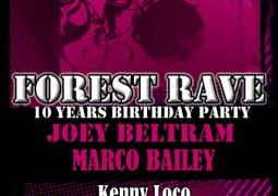 La Forest Rave célèbre sa dixième édition ce 6 août