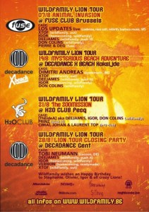 Wild Family présente le Lion Tour 2010