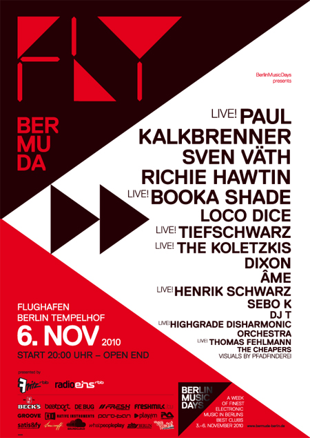 Nouvelle édition du Berlin Music Days (BerMuDa) du 3 au 6 novembre
