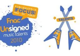 Les derniers jours pour s'inscrire au Fnac Unsigned Music Talents 2010