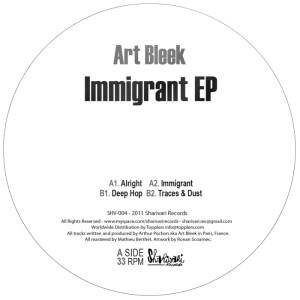 Art Bleek - Immigrant EP - Sharivari Records