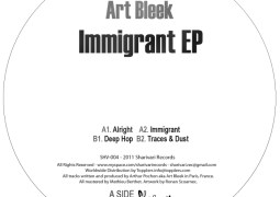 Art Bleek – Immigrant EP