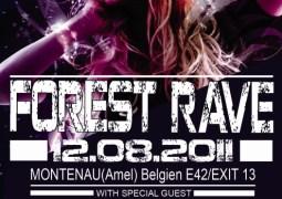 La 11ième Forest Rave avec Ben Sims le vendredi 12 août