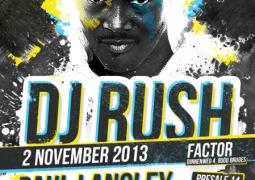 Area 51 présente DJ Rush le 2 novembre