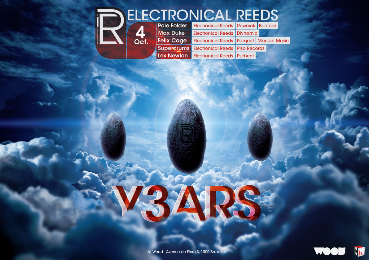 Electronical Reeds 3 Years Wood Brussels
