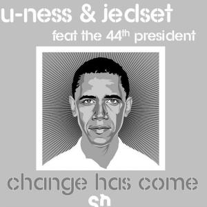 U-Ness & Jedset - Change Has Come [feat. The 44th President] - Soulheat Records