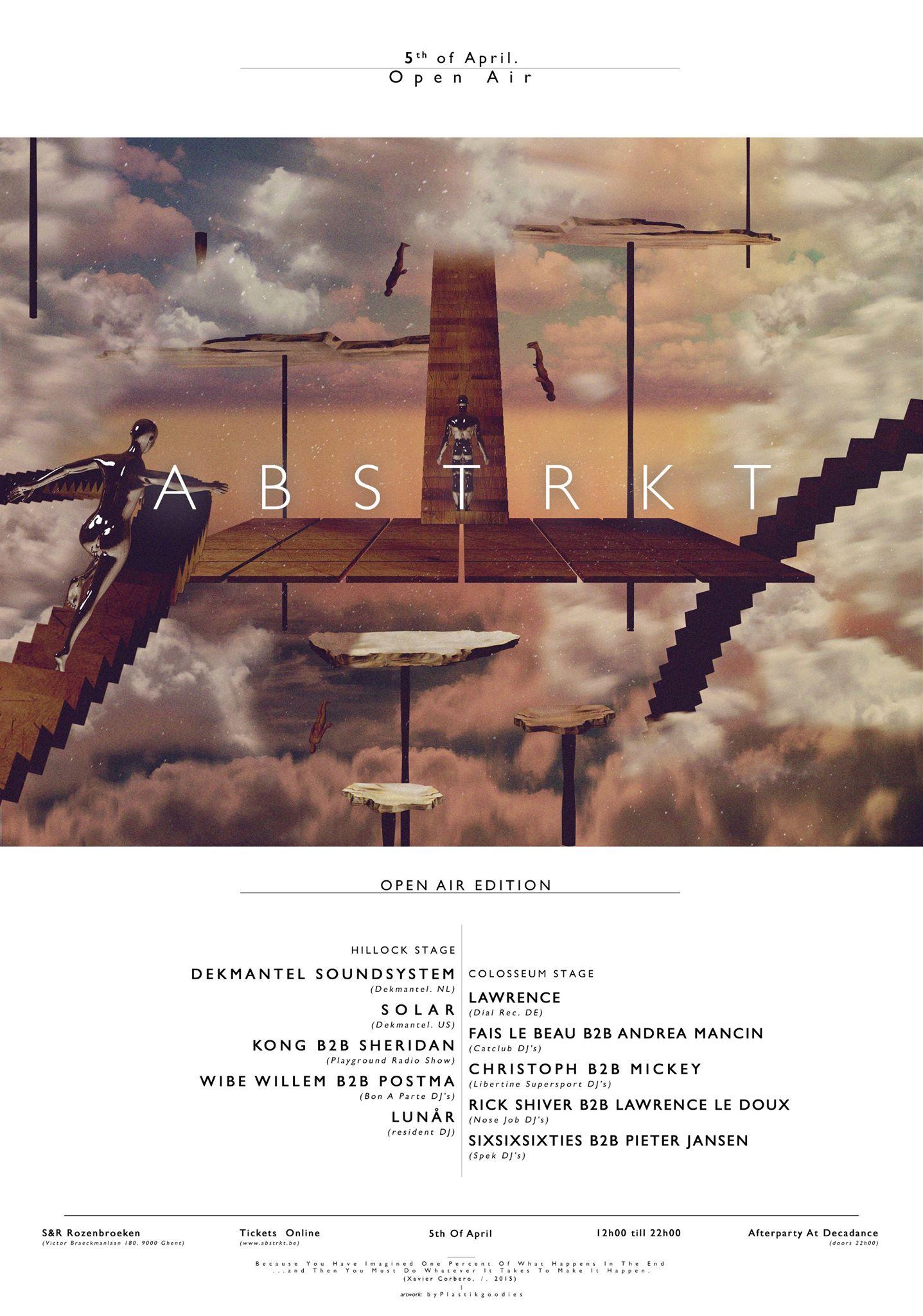 ABSTRKT & Libertine Supersport Open Air Avril 2015
